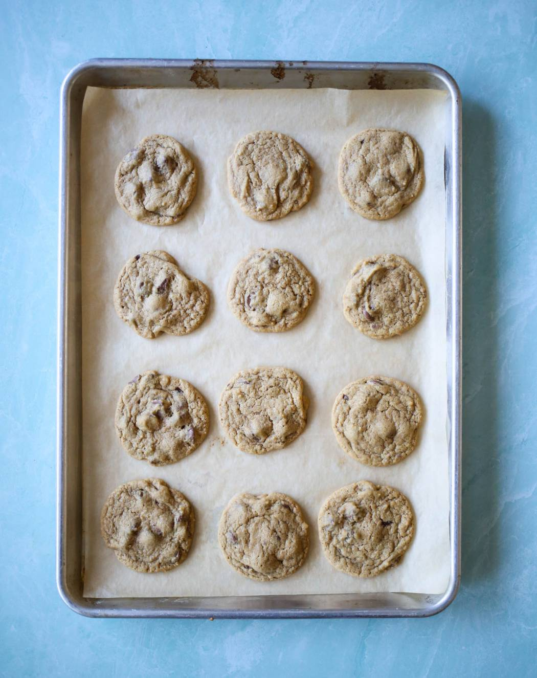 ultimate classic chocolate chip cookies from our best bites