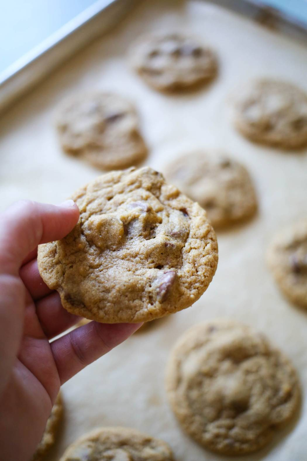 the ultimate classic chocolate chip cookies from our best bites