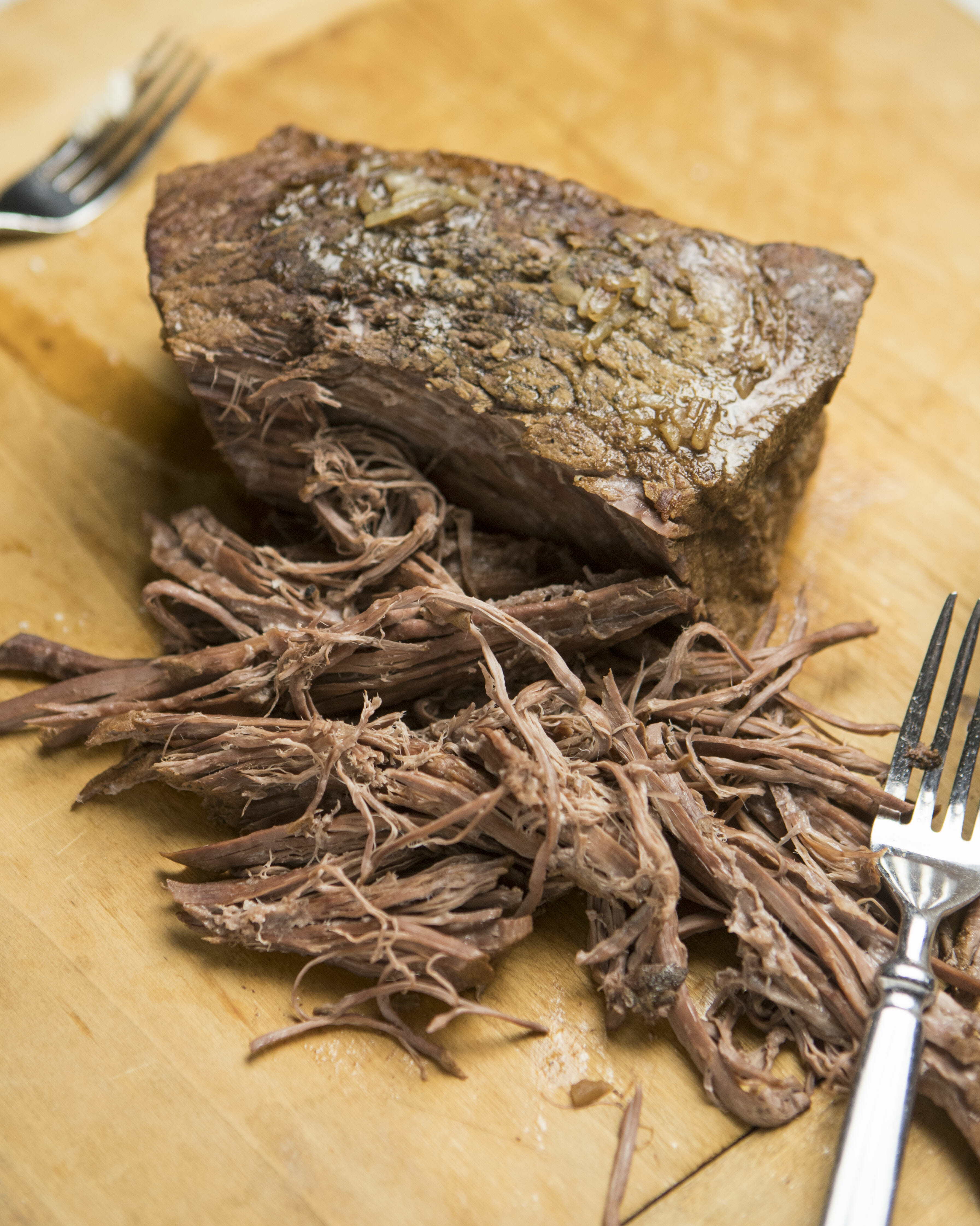 shredded french dip roast