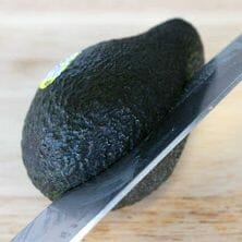 A fantastic tutorial on how to cut an avocado. So easy!