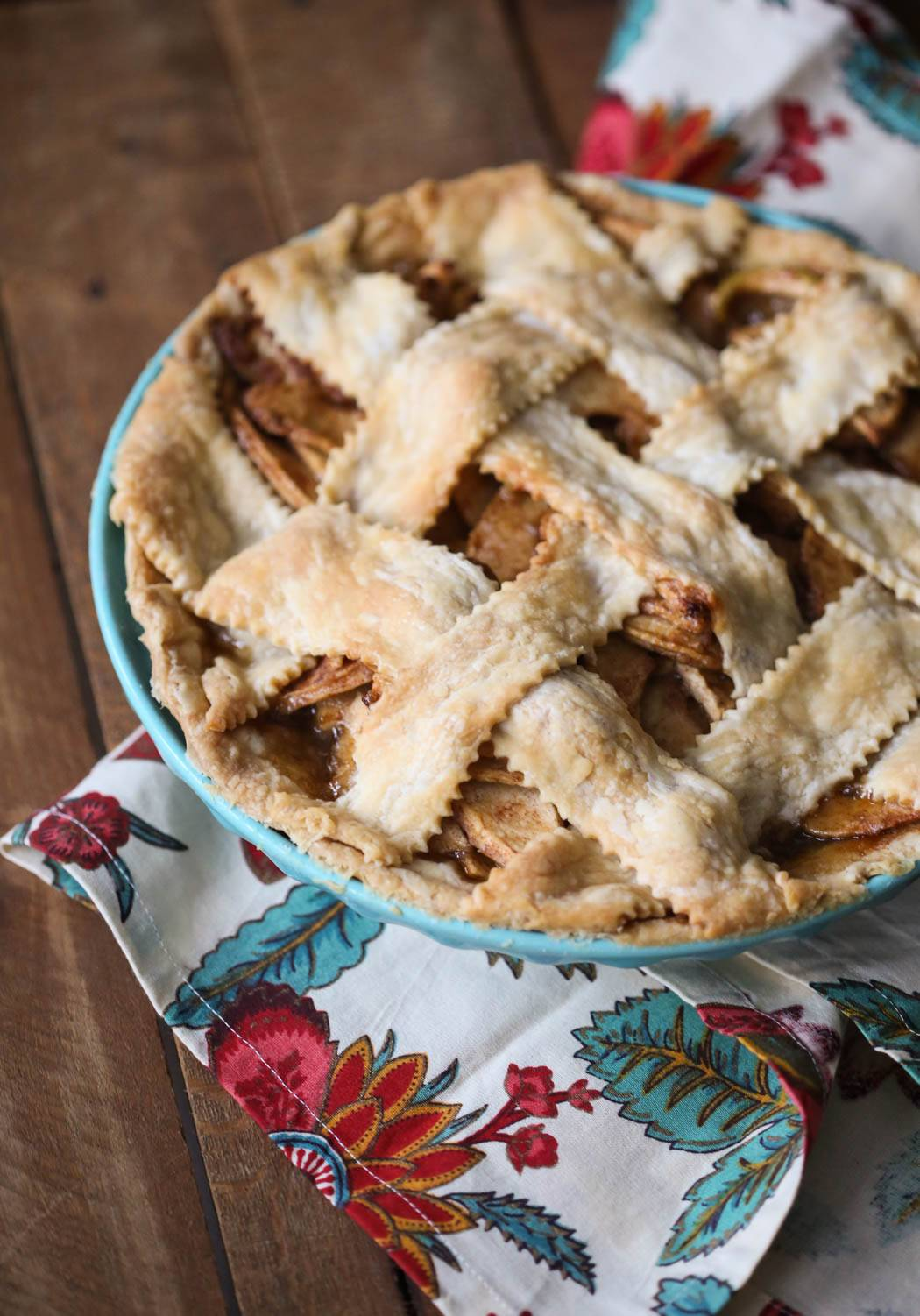 Baked Apple pie from Our Best Bites