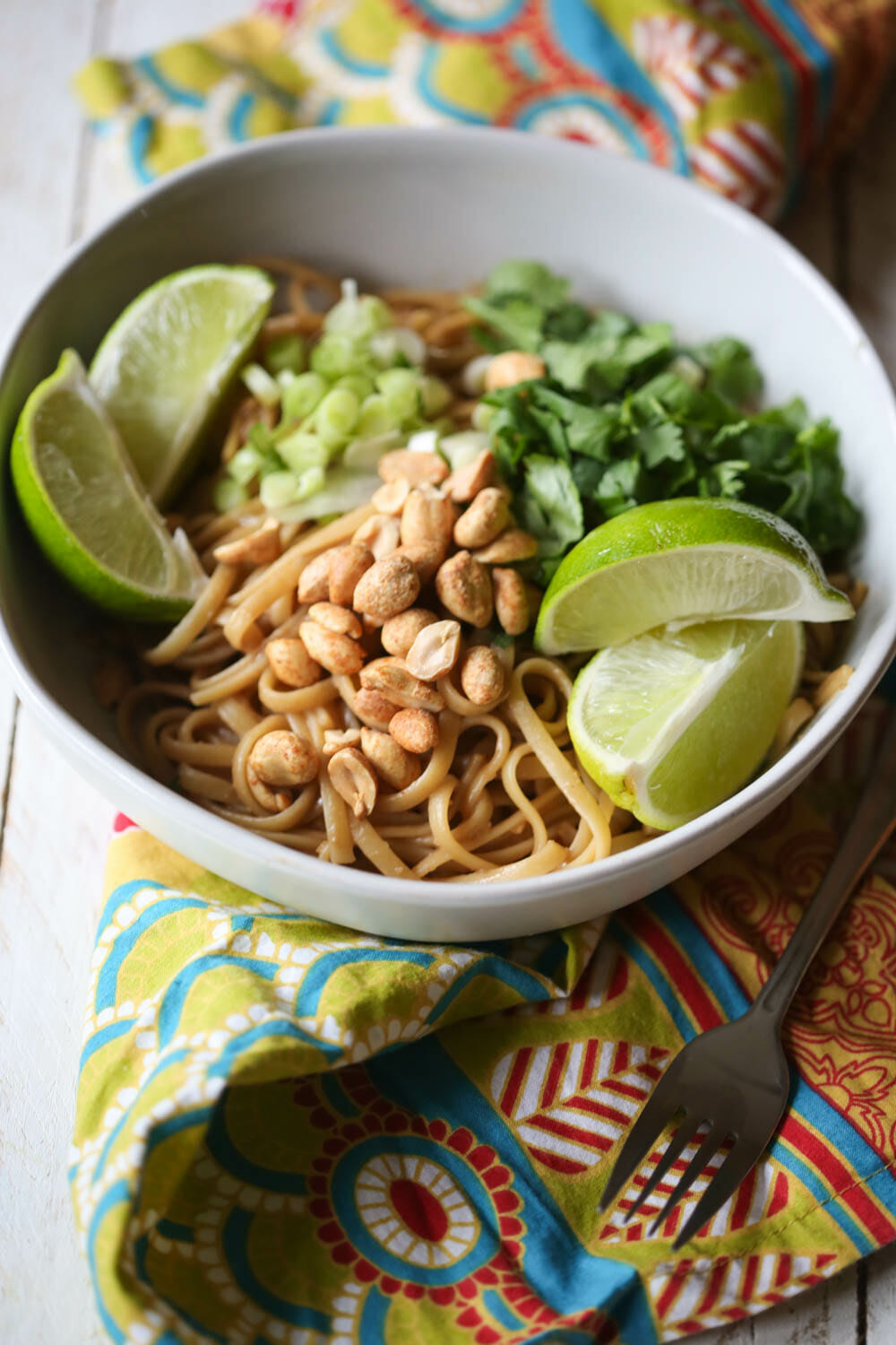 Thai Peanut Noodles from Our Best Bites