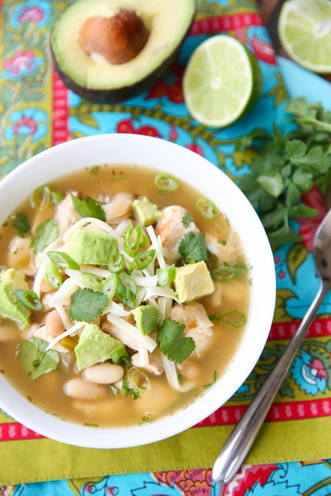 The Best White Chicken Chili