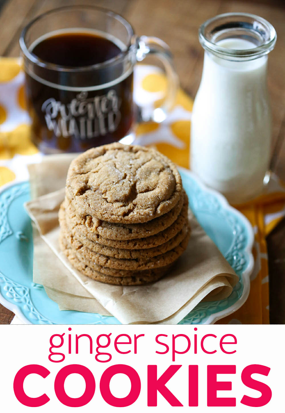 Flashback Friday: Ginger Spice Cookies