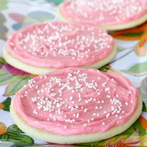 These sugar cookies are the best I've ever had...hands down!