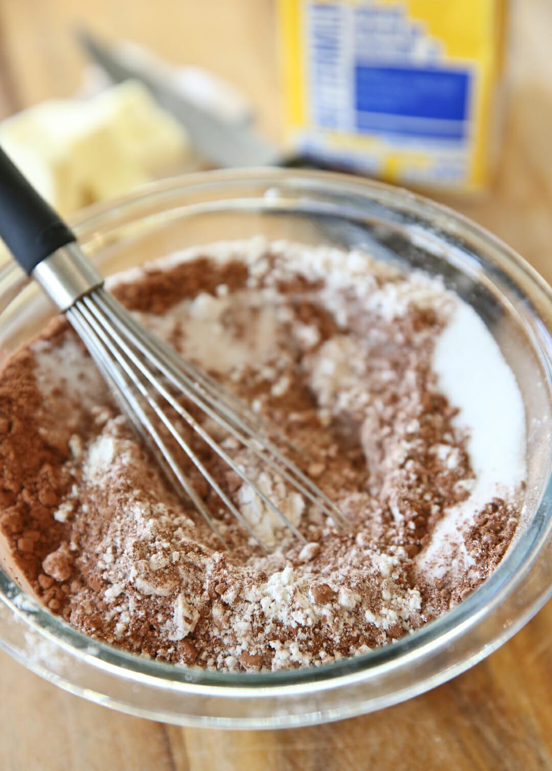 healthy chocolate dessert