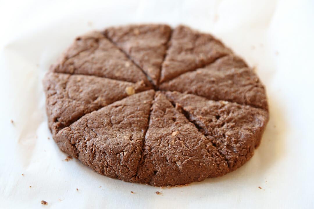 healthy chocolate scones