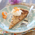 Flashback Friday: Almond Toffee Tart
