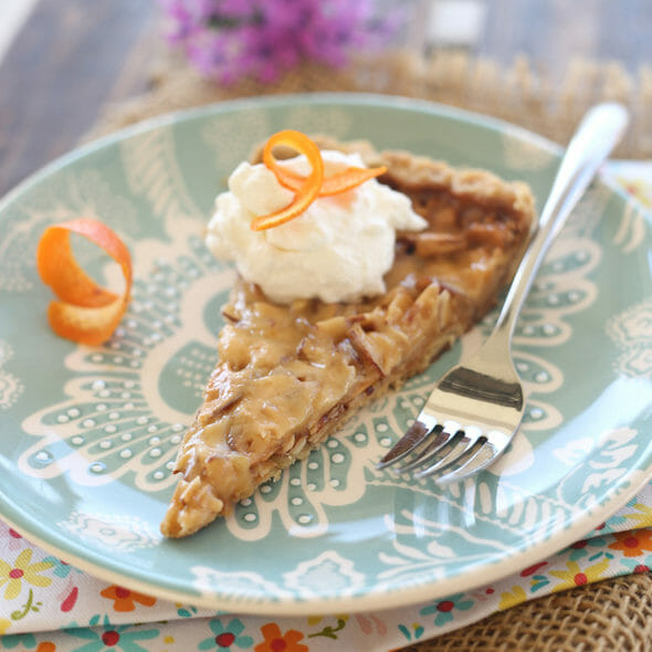 Almond Toffee Tart