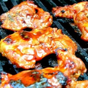 Old Fashioned BBQ Chicken Legs Recipe