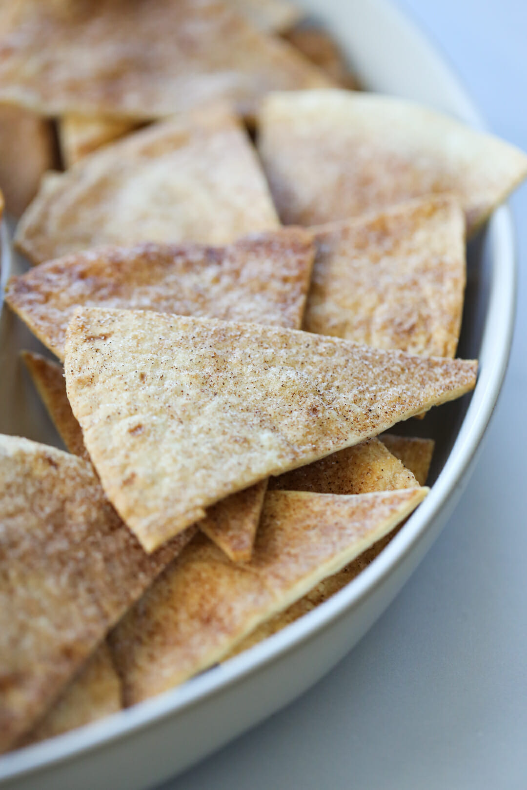 baked cinnamon chips