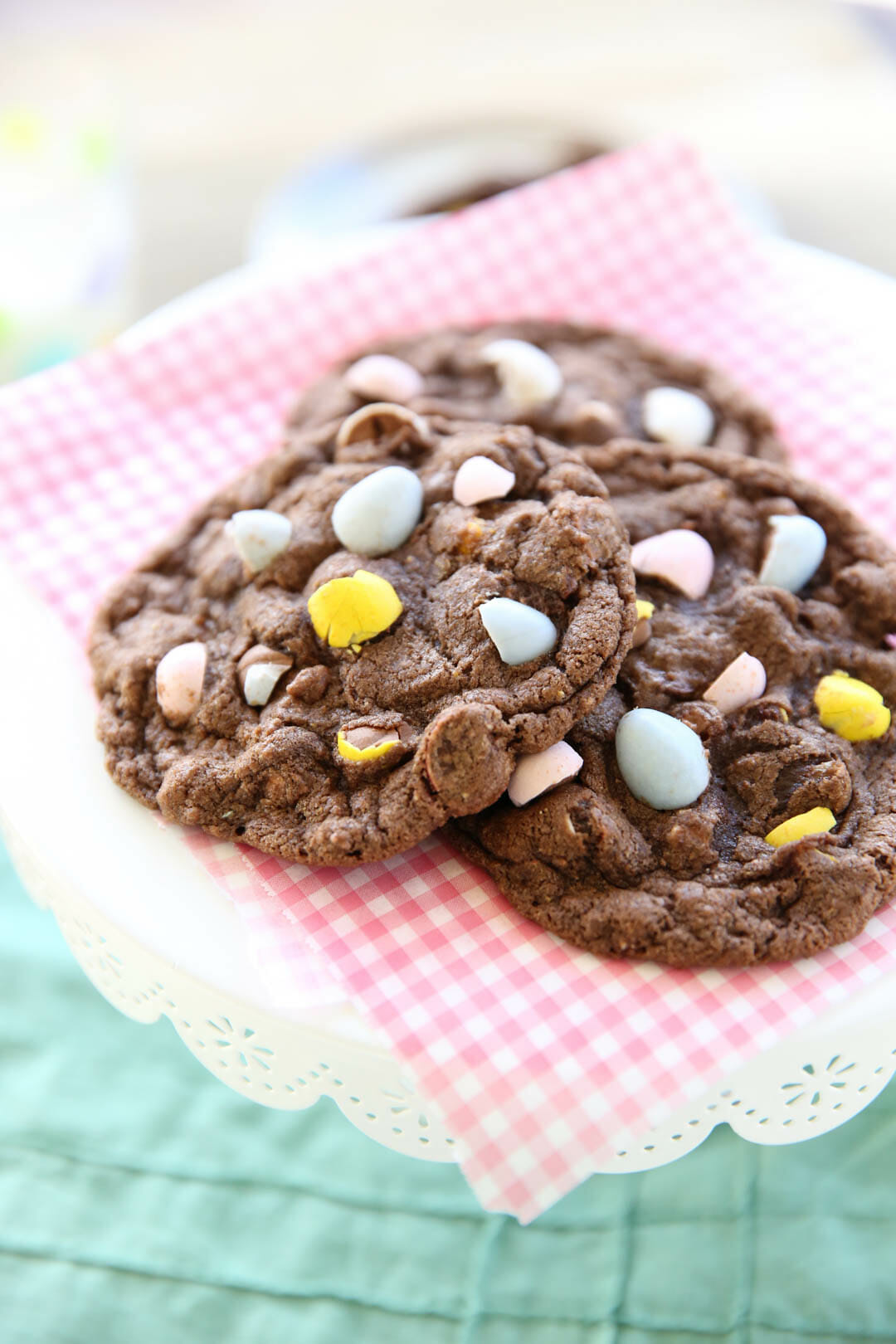 Cadbury Eggs Cookies