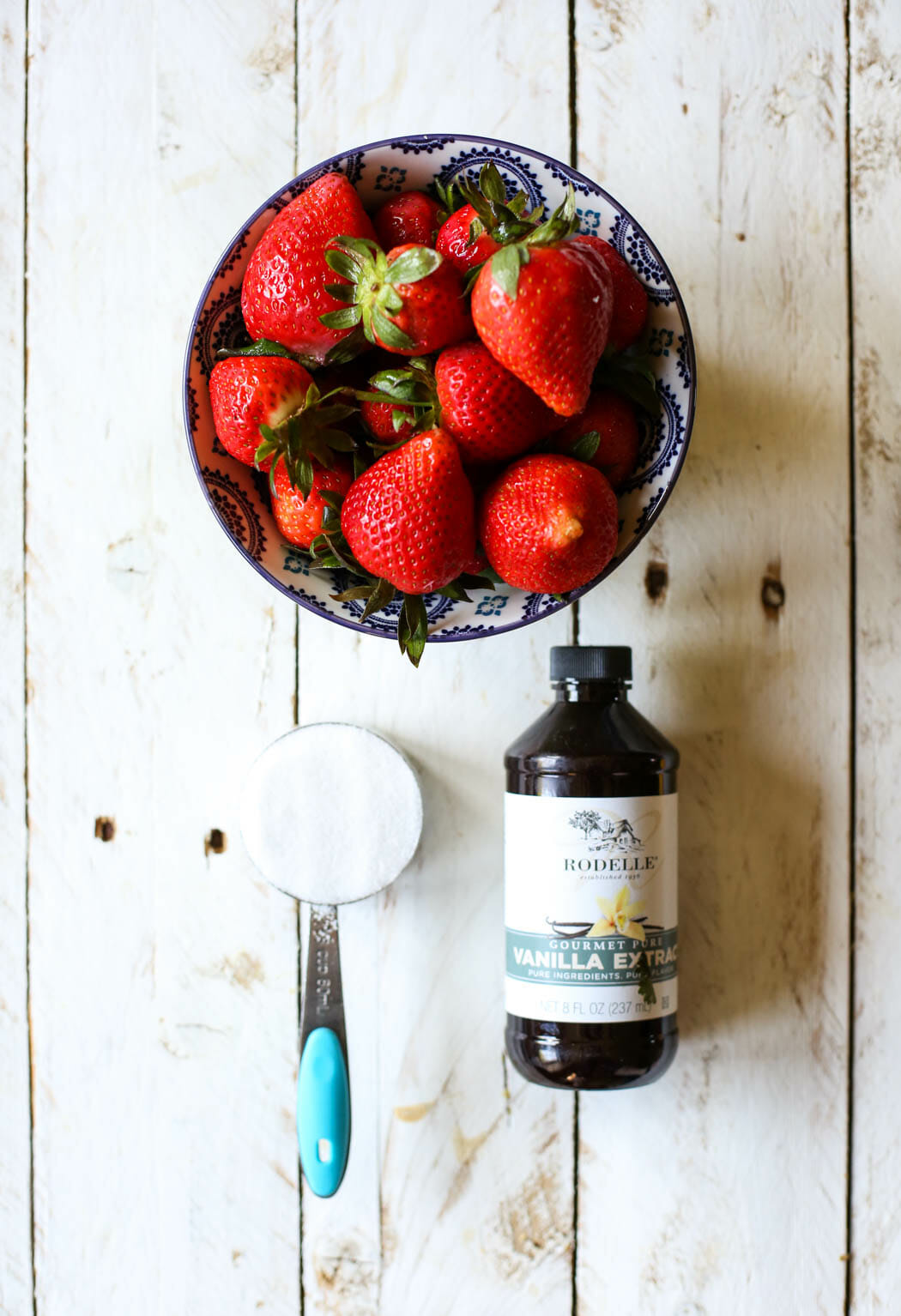 Strawberry Sauce Ingredients