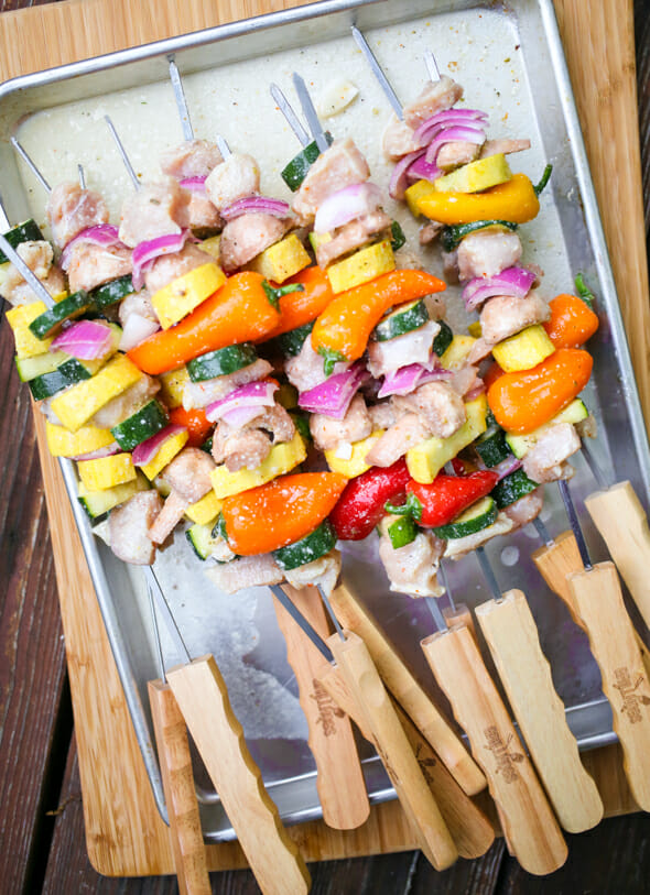chicken and veggie skewers-8