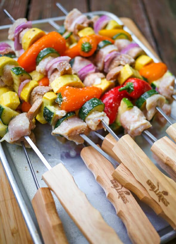 chicken and veggie skewers-9
