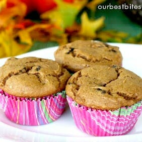 Easy Pumpkin Chocolate Chip Muffins