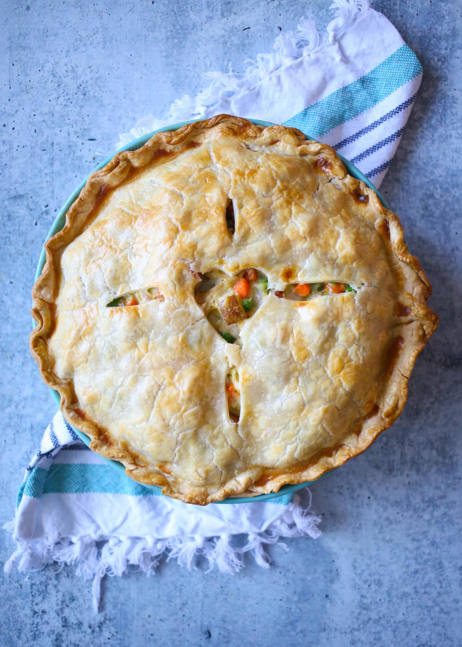 chicken pot pie from our best bites