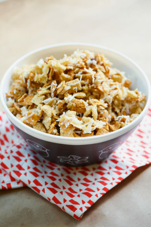 Chewy Almond Coconut Chex Mix-7 copy