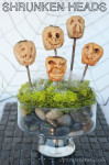 Crafty in the Kitchen: Shrunken Head Tutorial