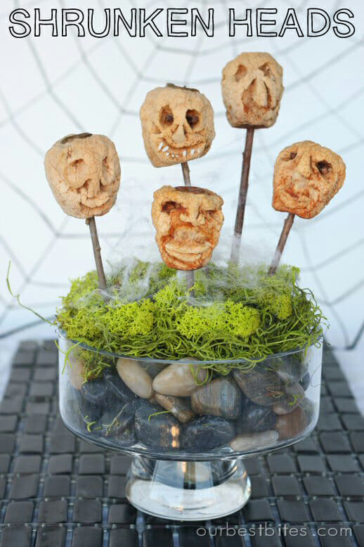Our Best Bites Shrunken Heads