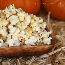 This stove top kettle corn is easy and fun!
