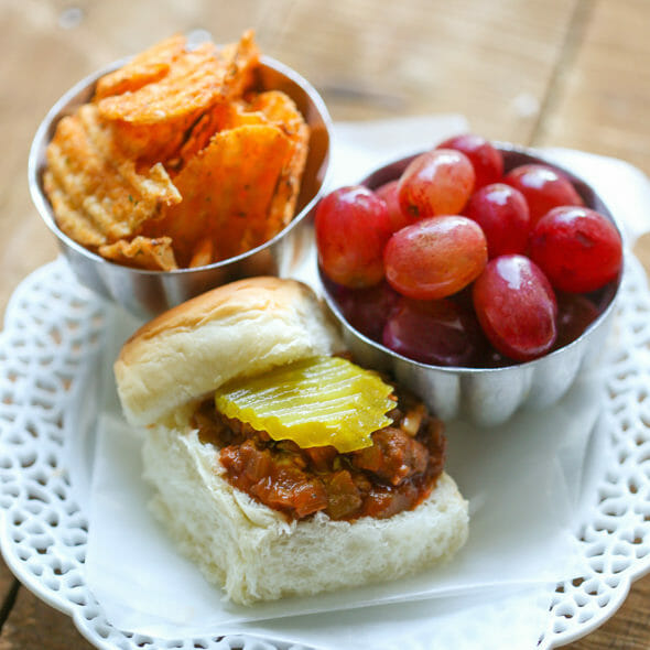 Dressed-Up Sloppy Joes