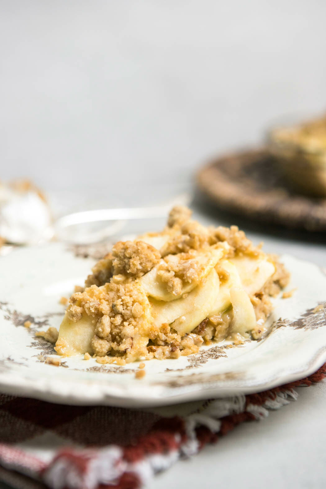 Crumb Topped Apple Pie from Our Best Bites