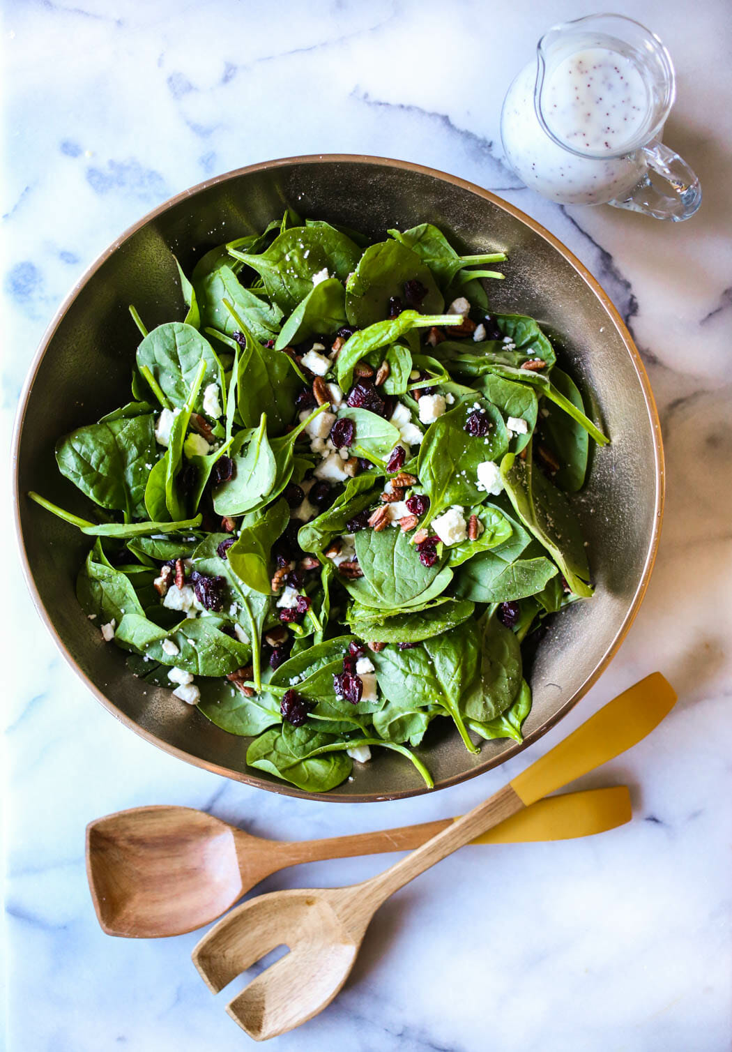 spinach poppyseed salad