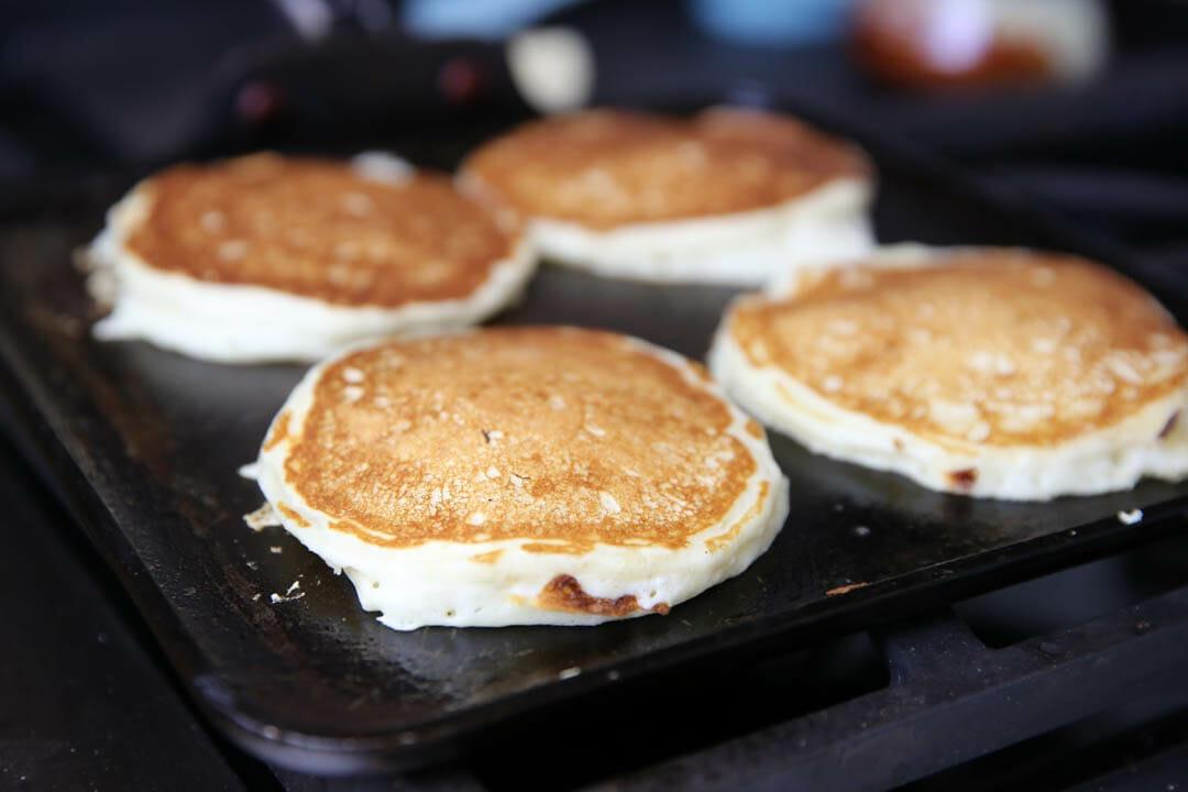 The Best Buttermilk Pancake Recipe