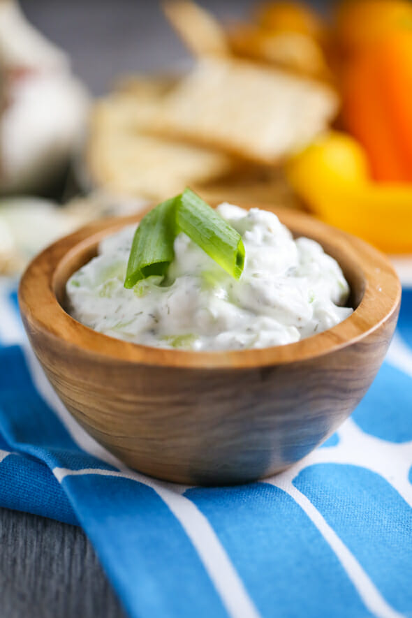 Quick and Easy Tzatziki from Our Best Bites