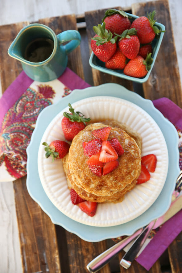 Whole Grain Pancakes from Our Best Bites