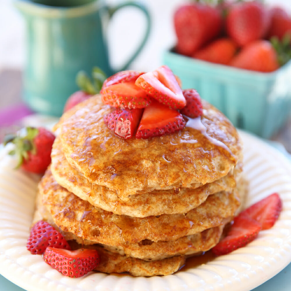 Flashback Friday: Whole Wheat Buttermilk Pancakes