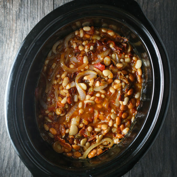 Flashback Friday: Not-Too-Sweet Baked Beans