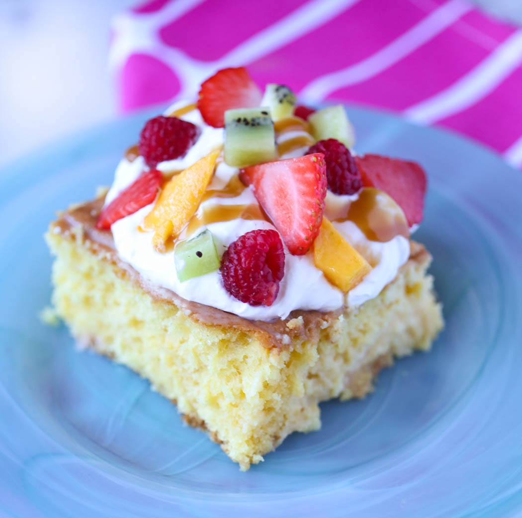 Tres Leches Cake (and Cupcakes)