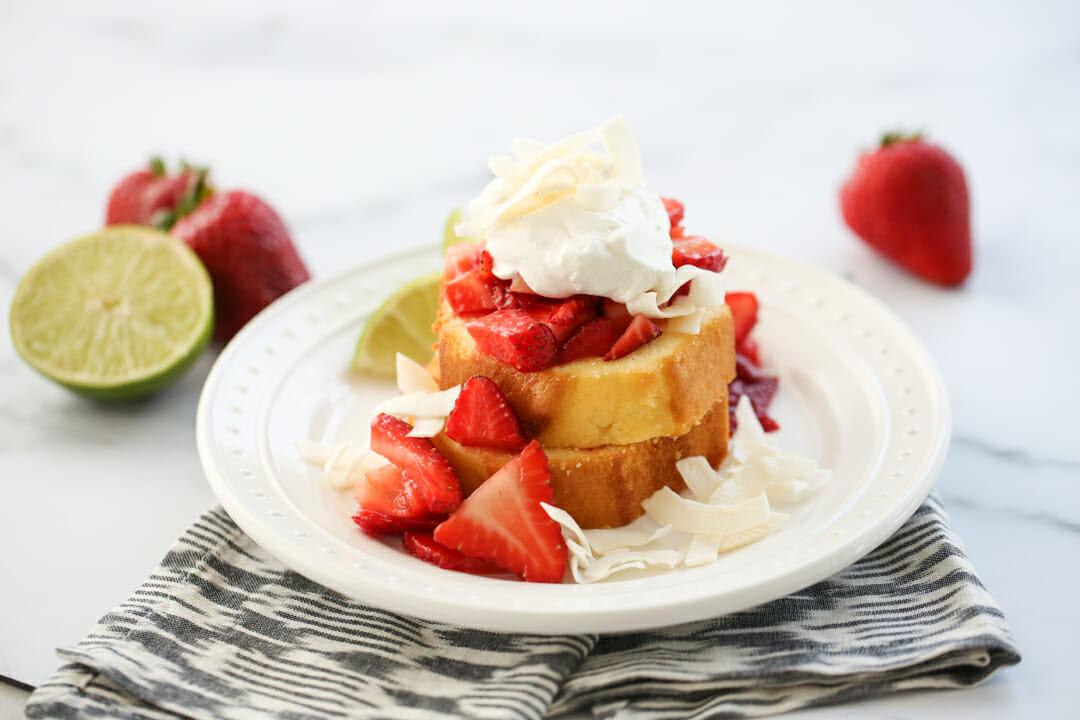 Strawberry Lime Shortcake