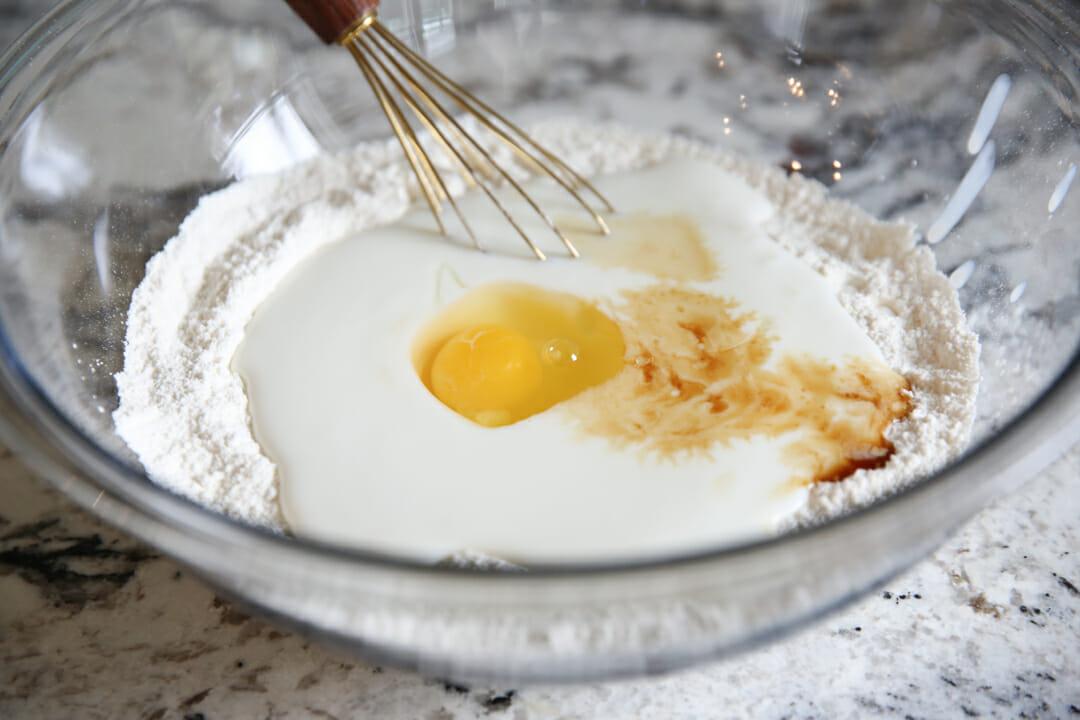 pancake dry ingredients