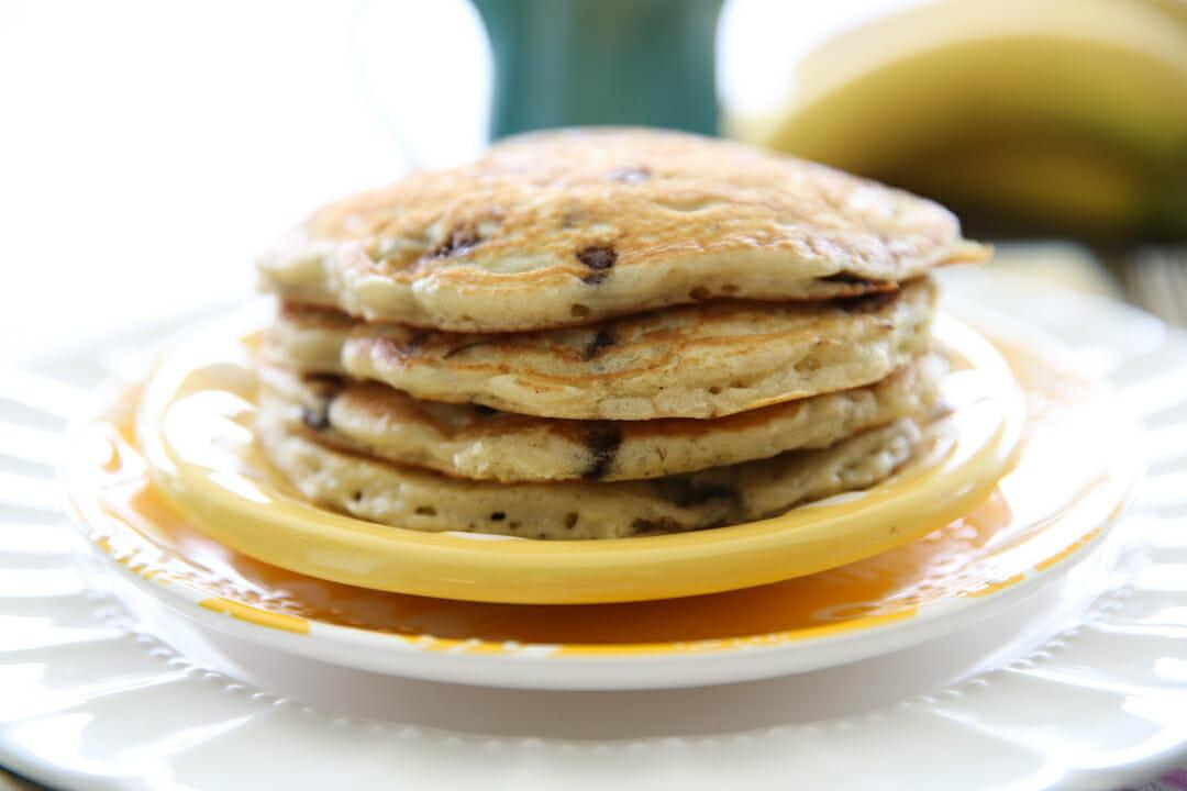 hot buttermilk pancakes