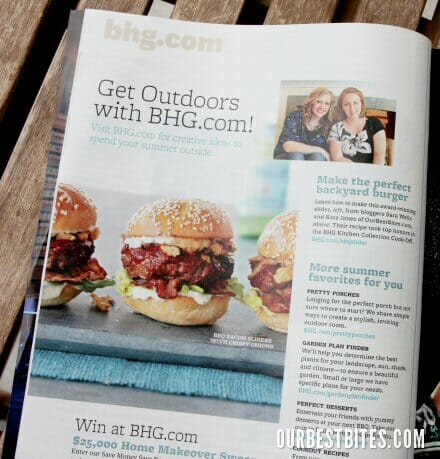 Better Homes and Gardens magazine page