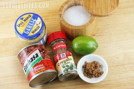 Chipotle Pork Tacos Ingredients