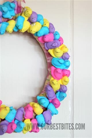 Tutorial: Quick and Easy Easter Wreath