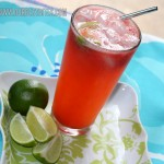 Fresh Strawberry Limeade