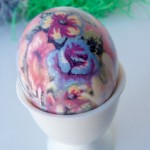 Silk-Dyed Eggs {aka TIE-Dyed!}