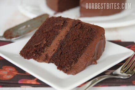 Eight Layer Slices Of Cake