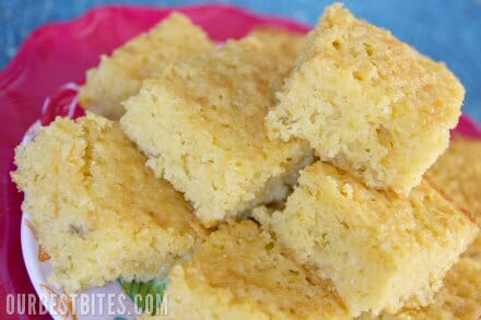 Sweet Chili Cheese Cornbread - Our Best Bites