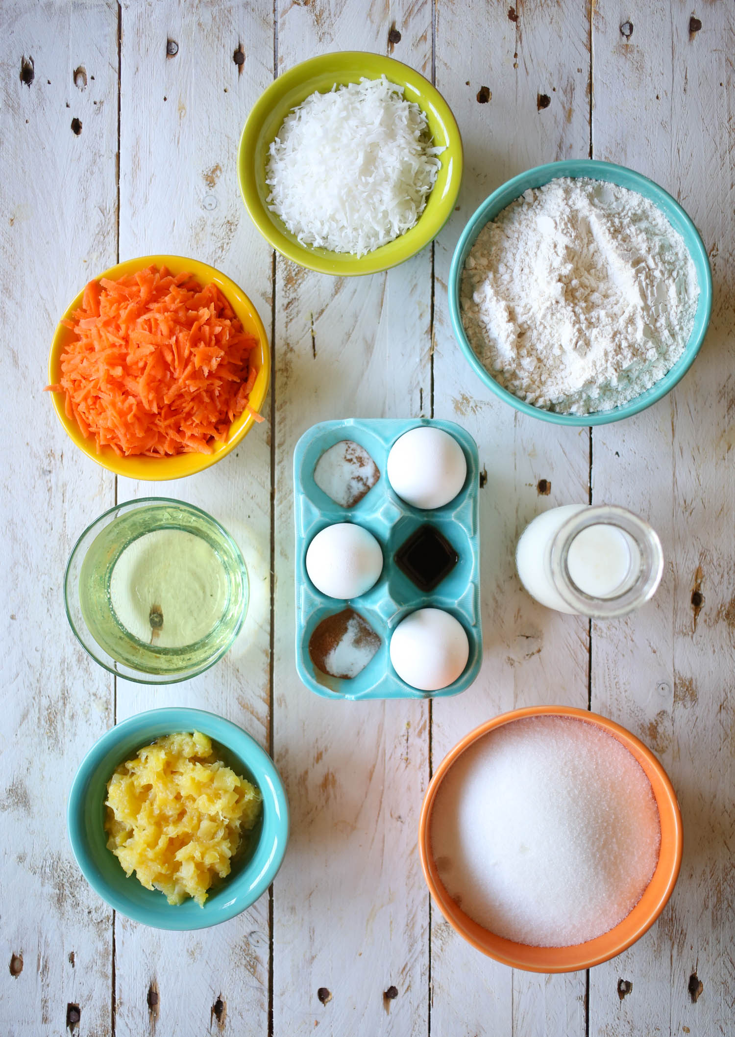 ingredients for carrot cake supreme from our best bites