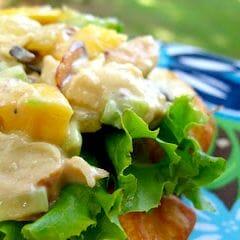 These teriyaki chicken salad sandwiches put such a fun twist on a classic!