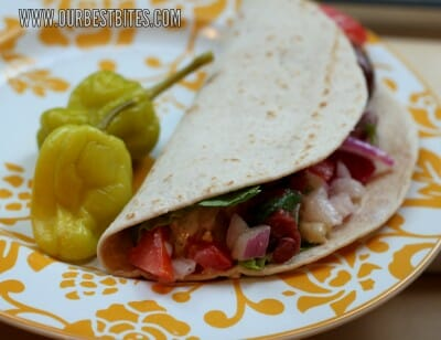 Grilled Greek Tacos