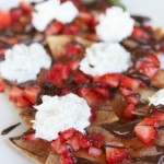 Strawberry & Chocolate Nachos