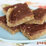 Chocolate-Frosted Peanut Butter Cookie Bars {Aka: School Lunch Peanut Butter Fingers}