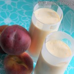 Peach Shakes {Definitely NOT a Harry Potter Post}